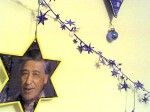Hanukah Wall of Freedom - Cesar Chavez